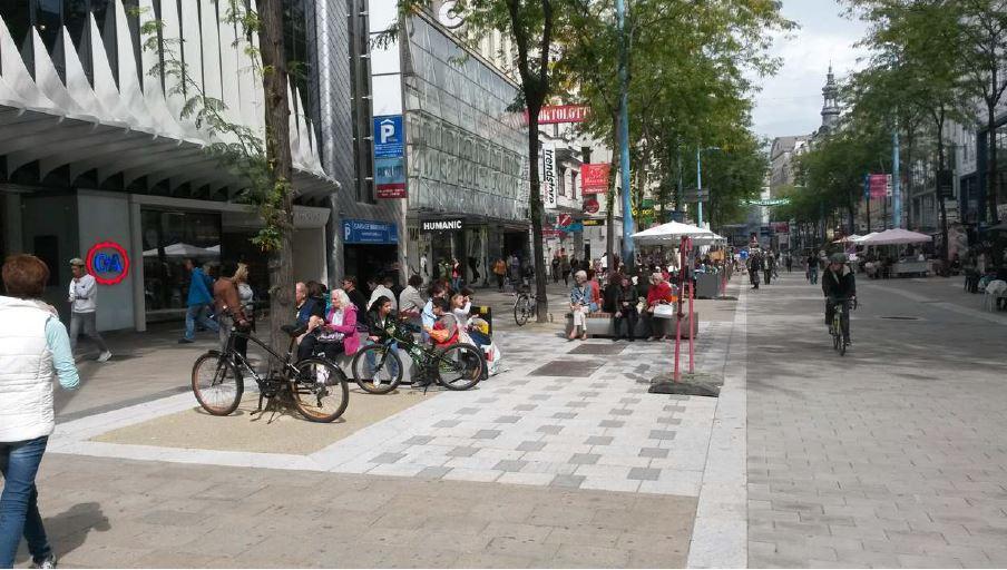 Pflaster Mariahilferstraße