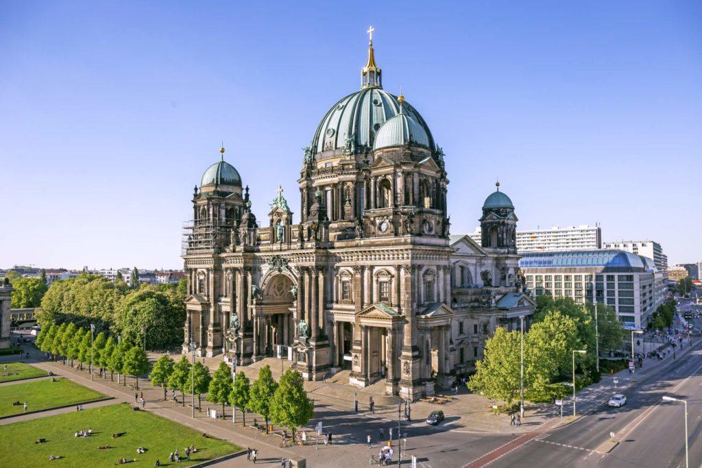Für den Bau der Berliner Dom wurde viel Granit verwendet