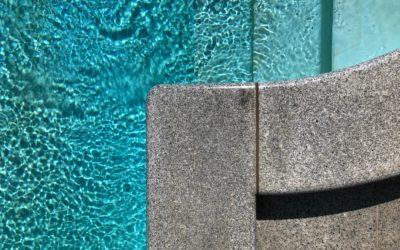 Poolumrandung aus Granit