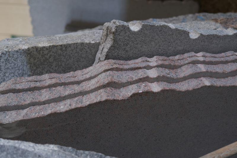 Oberfläche aus Granit