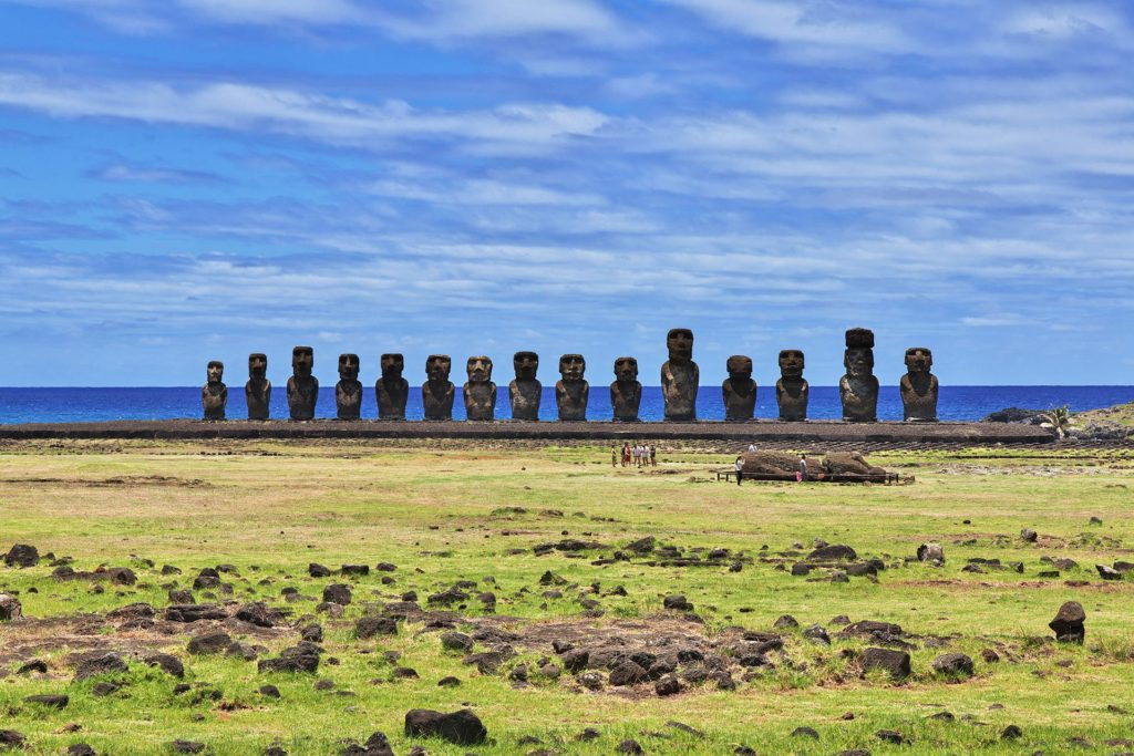 Moai Steinskulpture Rapa Nui