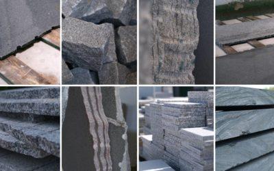 Produktvielfalt Granit – 15 Dinge, die du mit Granit machen kannst